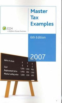 Master Tax Examples 2007