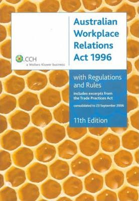 Australian Workplace Relations Act 1996