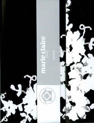 Marie Claire B&w Lace Magnetic Notebook
