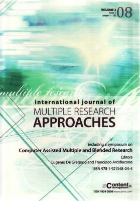 International Journal of Multiple Research Approaches 2008: v. 2, issue 1