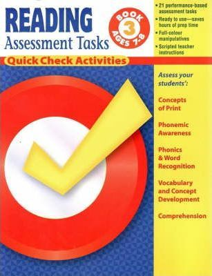 Reading Assessment Tasks: Bk. 3