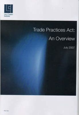 Trade Practices Act - An Overview