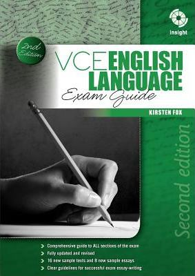 VCE English Language Exam Guide Cover Image