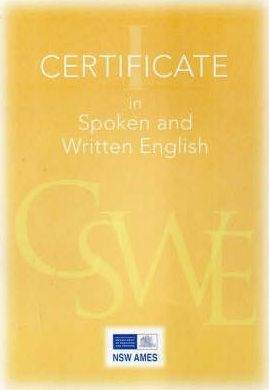 Certificate I in Spoken and Written English
