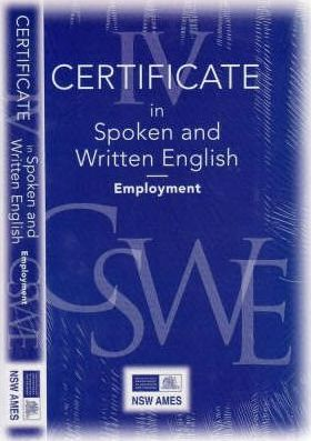 Certificate in Spoken and Written English IV