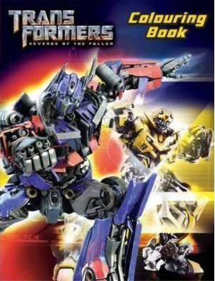 Transformers Colouring Book