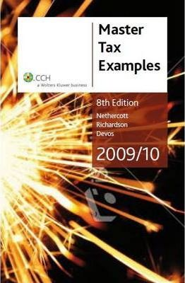 Master Tax Examples 2009/10 [CCH Product Code