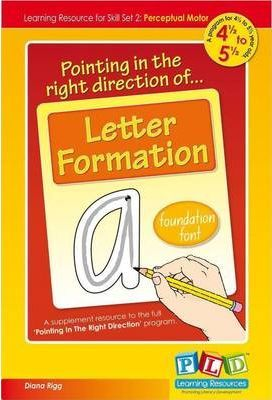 Pointing In The Right Directionof Letter Formation.