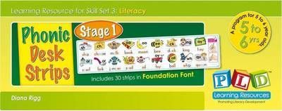 Stage 1 Phonic Desk Strips