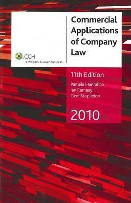Commercial Applications of Company Law 2010