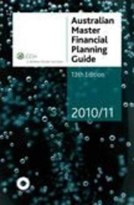 Australian Master Financial Planning Guide 2010/11