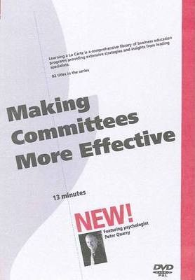 Making Committees More Effective