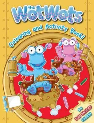 The Wotwots 24p Colouring Bk Red