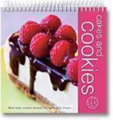 Wiro Flipover Cookbk Cakes and Cookies