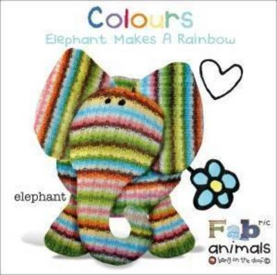 FABric Animals Padded Board Colours
