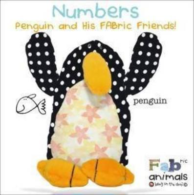 FABric Animals Padded Board Numbers