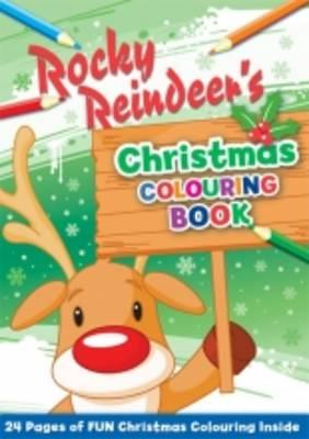 Rocky Reindeer's Christmas Colouring Book