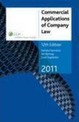 Commercial Applications of Company Law 2011