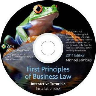 First Principles of Business Law 2011