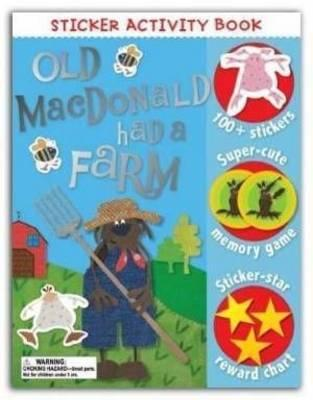 Kate Toms Sticker Book Old Macdonald