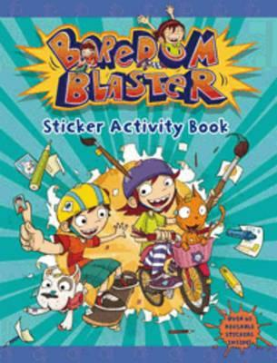 Boredom Blaster Sticker Activity Book
