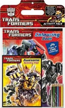 Transformers Activity Pack