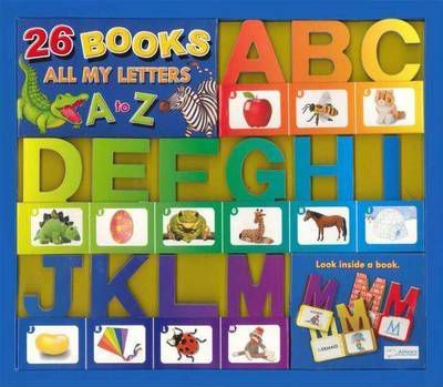 26 Miniature Board Books - All My Letters A-Z