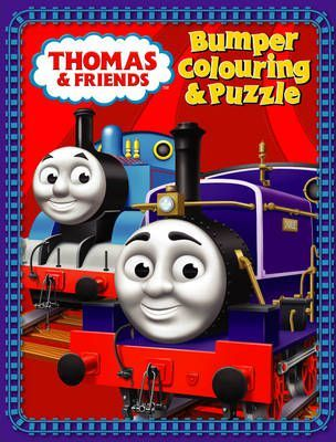 Thomas and Friends: Bumper Colouring and Puzzle