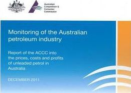 Monitoring of the Australian Petroleum Industry