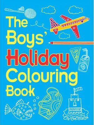 Boys' Holiday Colouring Book