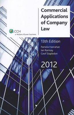 Commercial Applications of Company Law 2012
