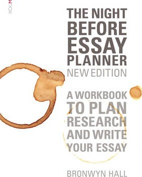 The Night Before Essay Planner  Bronwyn Hall   The Night Before Essay Planner After High School Essay also It Writing Services  Essay Writing Thesis Statement