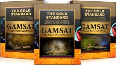 Gold Standard GAMSAT - Complete 3 Book Set - Gold Standard Media