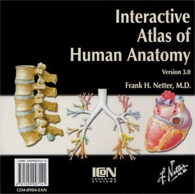 Interactive Atlas Of Human Anatomy Frank H Netter 9781929007141