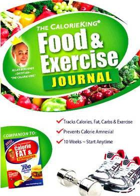 the calorieking food exercise journal alan borushek 9781930448155