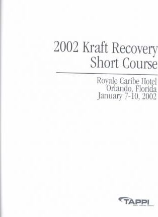2002 Kraft Recovery Short Course