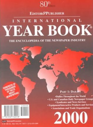 Editor and Publisher International Yearbook 2000