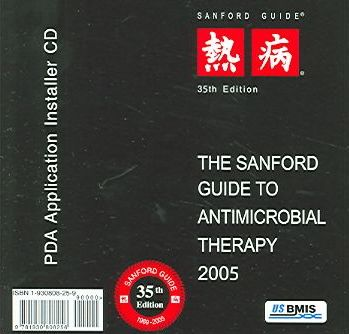 The Sanford Guide To Antimicrobial Therapy, 2005 PDA