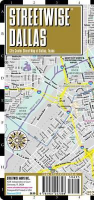 Streetwise Dallas Map - Laminated City Center Street Map of Dallas, Texas
