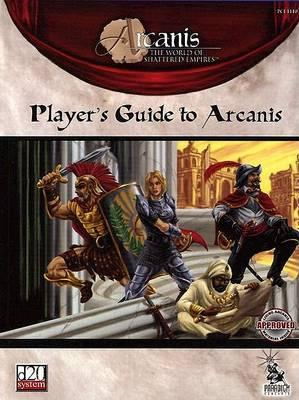 Player's guide to arcanis (1st edition) d20 rpg noble knight games.