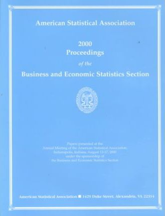 2000 Proceedings of the Business and Economic Statistics Section