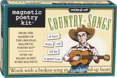 Magnetic Poetry - Country Songs