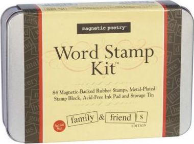 Family & Friends Word Stamp Kit