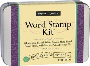 Holidays & Events Word Stamp Kit