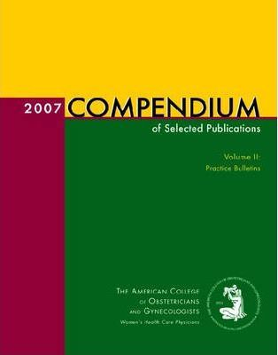 2007 Compendium of Selected Publications: v. 2