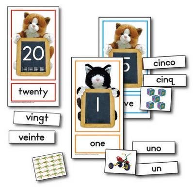 Counting Cats Learning Cards