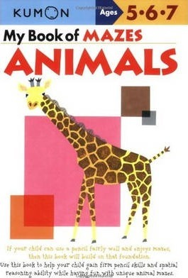 My Book Of Mazes: Animals Cover Image