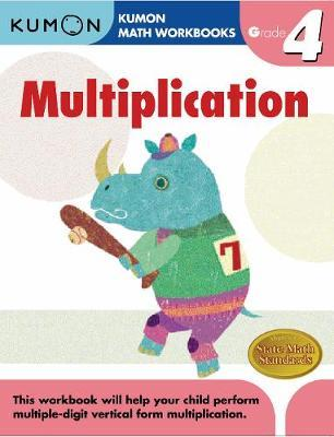 Grade 4 Multiplication Cover Image