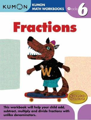 Grade 6 Fractions Cover Image