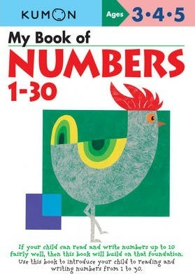 My Book Of Numbers 1-30 Cover Image